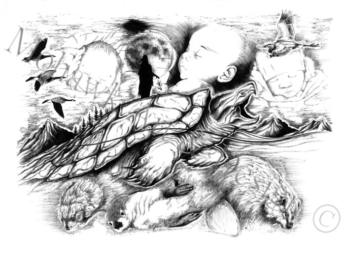 Line Art Xl 2012 : Gallery mohawk art design